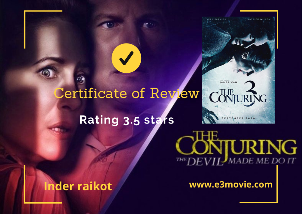 The Conjuring 3 Movie Review